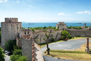 The Yedikule Fortress in Istanbul