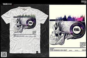 Skull Print / T-Shirt