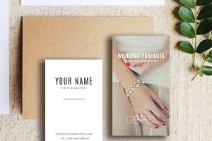 Wedding Photography Business Card