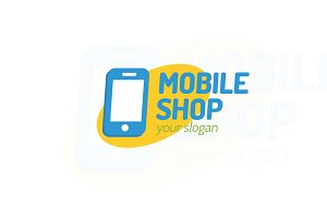 Mobile shop logo