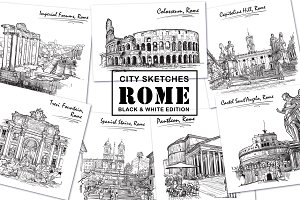 Sketches of Rome - Ink Edition