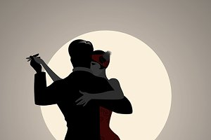 Tango under the moon