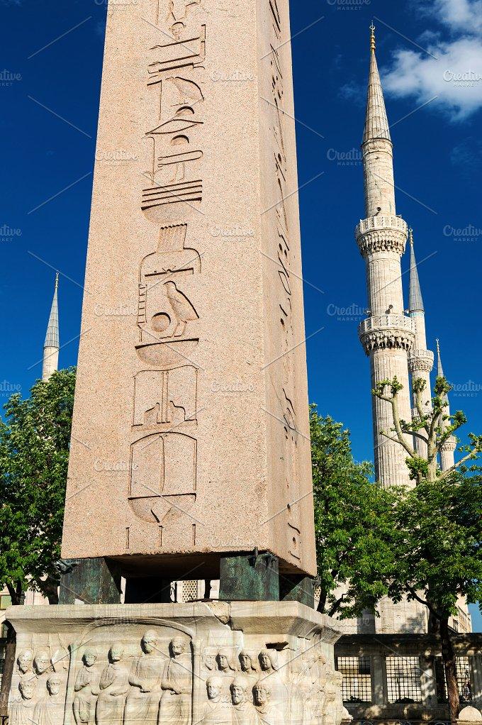 The Obelisk of Theodosius ~ Architecture Photos ~ Creative ...