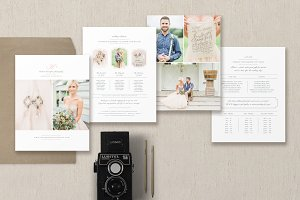4-Page Wedding Pricing Guide