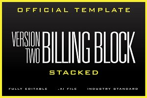 The Billing Block Template v2