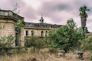 Ruined palace III