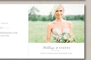 Wedding Planner Marketing Trifold