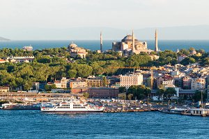 The historical center of Istanbul