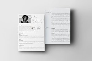 Modern Resume Template | The Lola