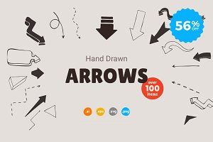 Hand Drawn Arrows - 56% OFF