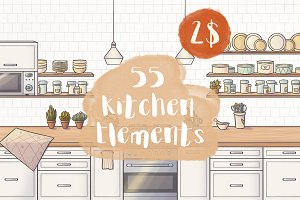 55 Kitchen Elements