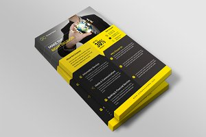 Corporate Flyer Template-V507