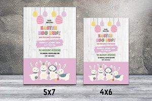 Easter Party Invitation Flyer-V508