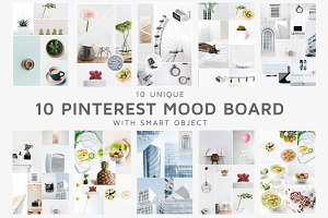 10 Pinterest Mood Board Templates V1