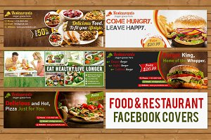 Food & Restaurant Facebook Covers