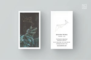 GEOLUNA1 Business Card Template
