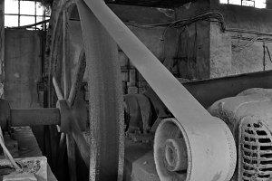 Machinery Abandoned Factory
