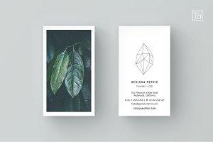 GEOLUNA3 Business Card Template