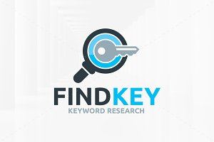 Find Key Logo Template