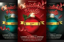 Christmas Party Flyer Template v2