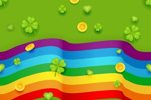 Seamless Pattern Saint Patrick Day