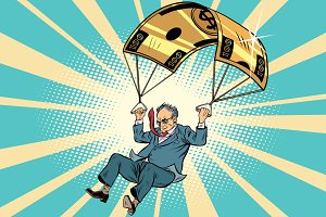 senior citizen Golden parachute financial compensation in the bu