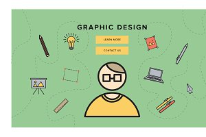 Graphic Design Landing Page