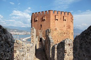 Red Tower of Alanya