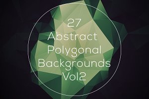 Abstract Polygonal Backgrounds Vol2