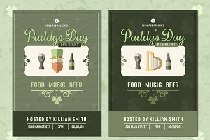 Paddys Day Invites