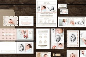Newborn Photographer Marketing Set