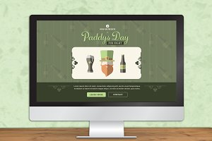 Paddys Day Landing Pages