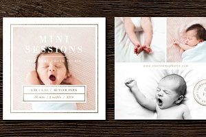 Newborn Mini-Session Templates