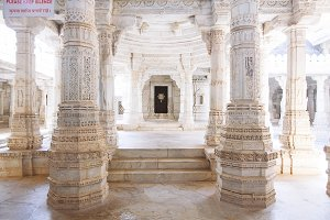Ranakpur Temple in Rajasthan, India