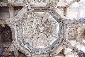Ranakpur Temple in Rajasthan, India