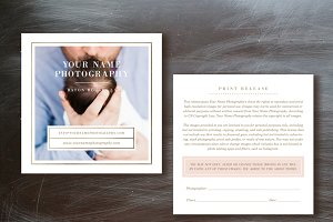 Photographer Print Release Form
