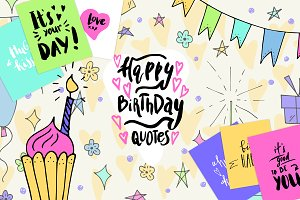 Happy Birthday Cards maker kit