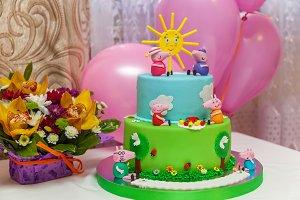 Custom cake.