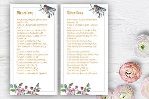 Apple blossom Wedding Direction DiY