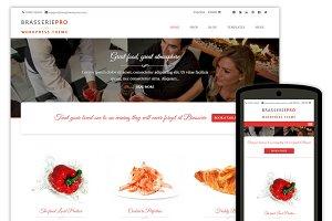 Brasserie Pro Restaurant Theme