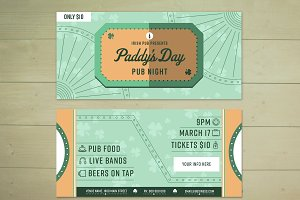 Paddys Day Ticket