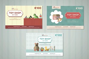 Toy Store Gift Card