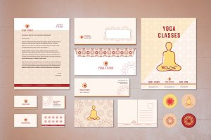 Yoga Brand Collateral