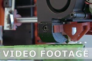 Three dimensional plastic 3d printer