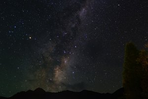 The Milky Way over New Zealand