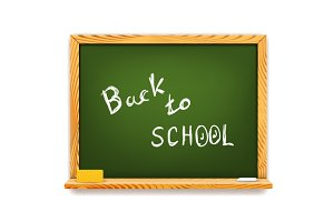 Chalkboard: Back to School