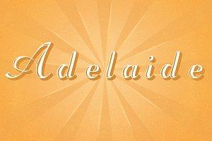 Adelaide Typeface