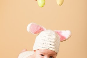 Baby Easter bunny