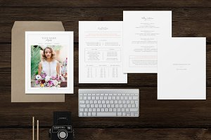 Photographer Pricing Templates