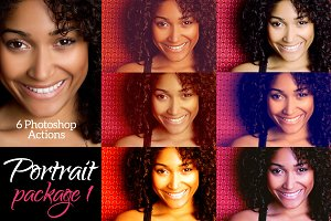 Portrait Package 1 - 6 actions